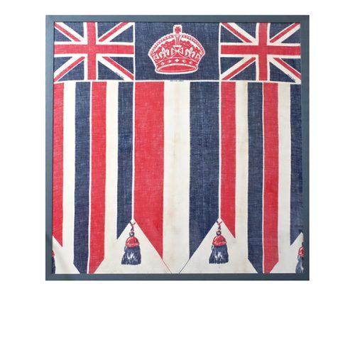 1930s Coronation Bunting