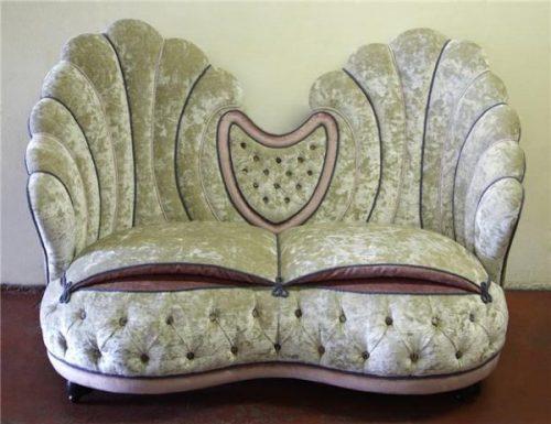 1840's Shell Sofa