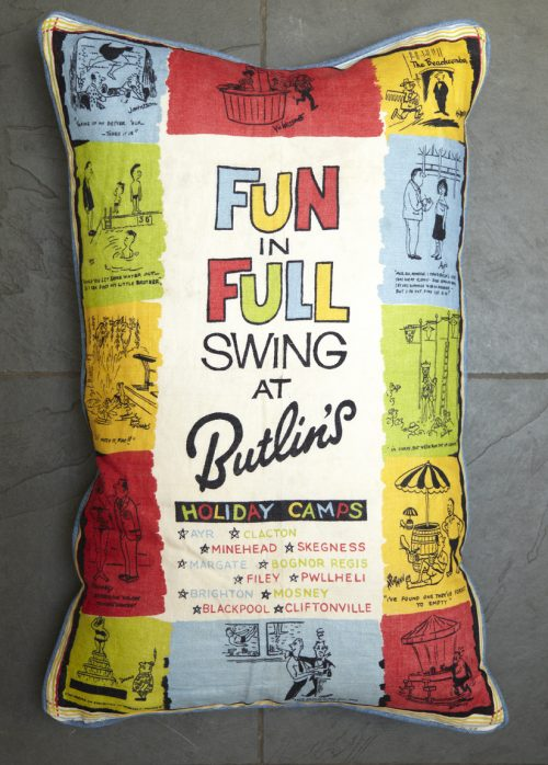 1950's 'Butlins' Cushion