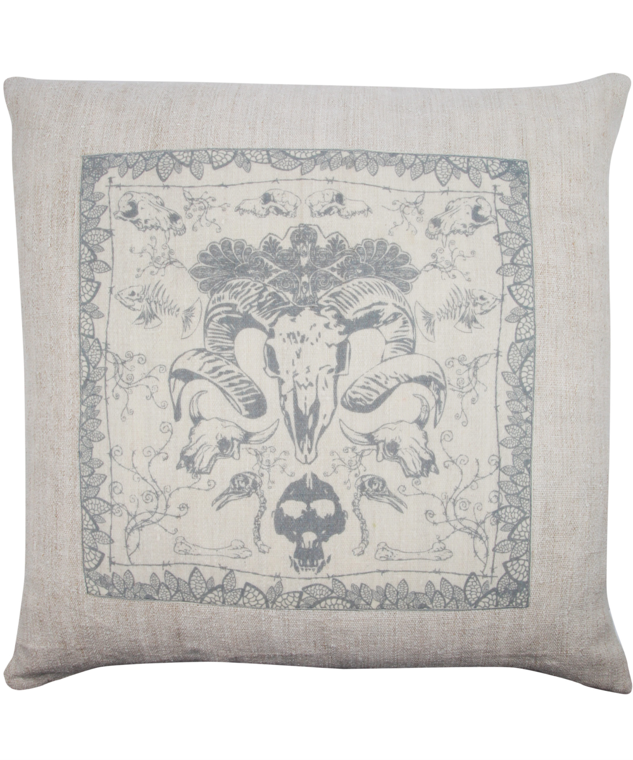 Jo Wood for Liberty -Endangered Species cushion