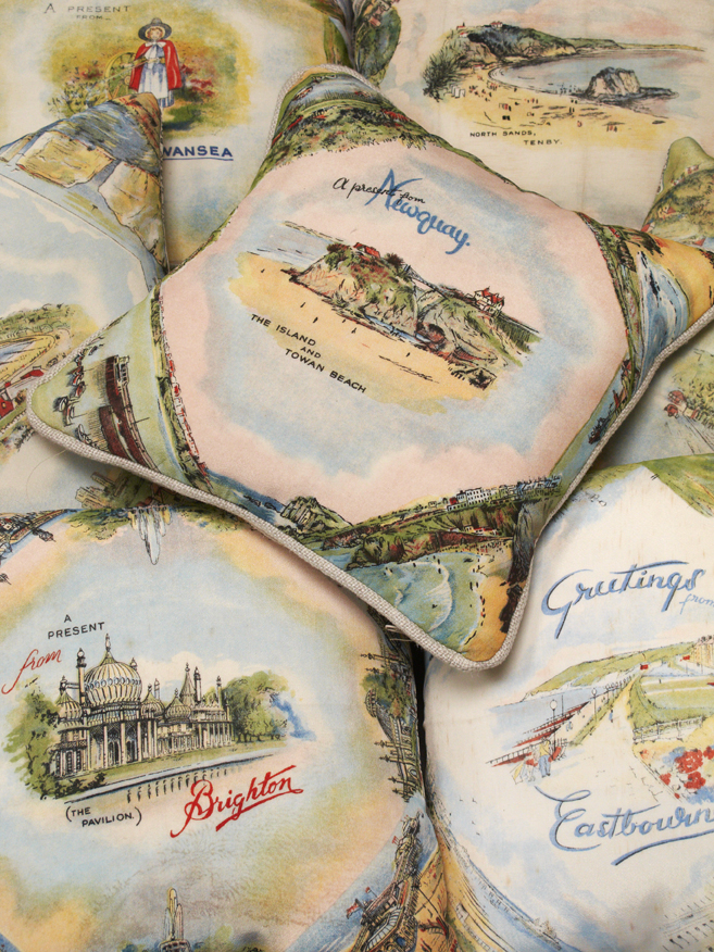 'Vintage 'Summer Holiday' Cushions